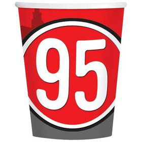 Disney Cars 9oz Cups (8 Pack)