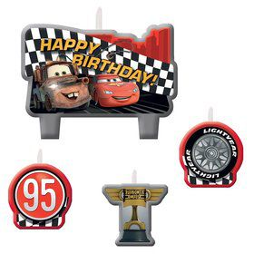 Disney Cars Candle Set (4 Pack)