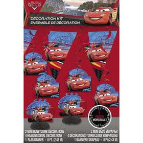 Disney Cars Decoration Kit (7 Pieces)