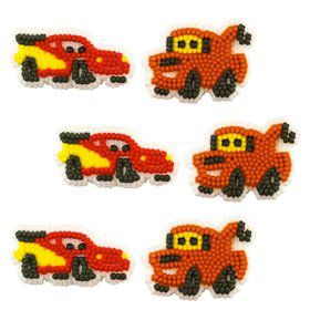 Disney Cars Edible Icing Decorations (12 Pack)