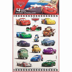 Disney Cars Sticker Sheet (4)