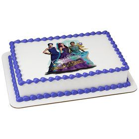 Disney Descendants 2 Quarter Sheet Edible Cake Topper (Each)
