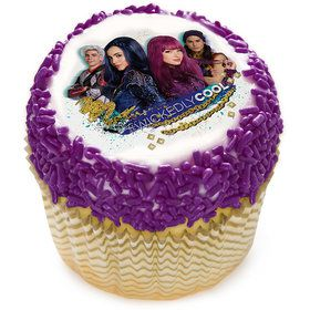 "Disney Descendants 2 Wicked Cool 2"" Edible Cupcake Topper (12 Images)"