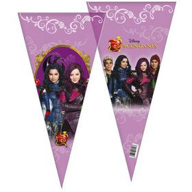 Disney Descendants Cone Shaped Party Bags (6 Count)