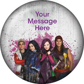 Disney Descendants Personalized Button (Each)