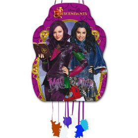 Disney Descendants Pull String Bag Pinata (Each)