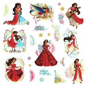 Disney Elena of Avalor Peel and Stick Wall Decals (24 Pieces)