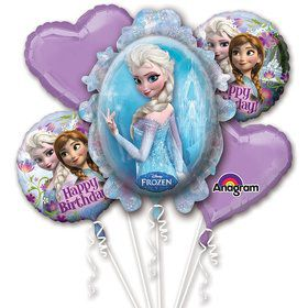 Disney Frozen Balloon Bouquet (Each)