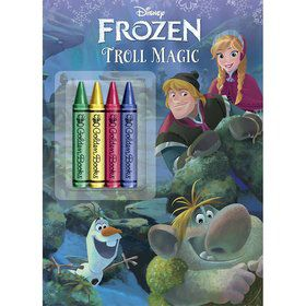 Disney Frozen Chunky Crayon Coloring Book
