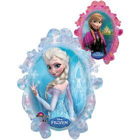 "Disney Frozen Double Sided Mirror 25"" Balloon (Each)"