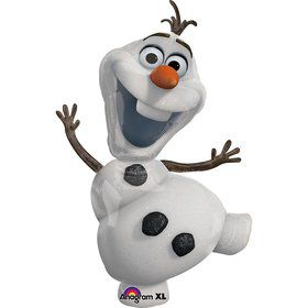 "Disney Frozen Olaf Snowman 23"" Balloon (Each)"
