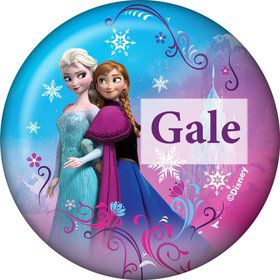 Disney Frozen Personalized Button (Each)