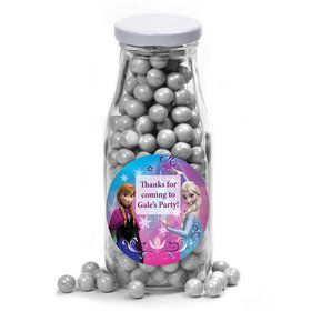 Disney Frozen Personalized Glass Milk Bottles (10 Count)