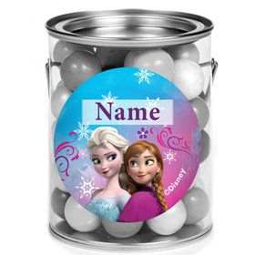 Disney Frozen Personalized Mini Paint Cans (12 Count)