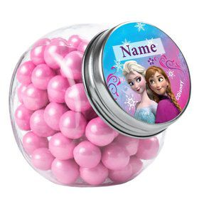 Disney Frozen Personalized Plain Glass Jars (12 Count)