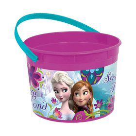 Disney Frozen Plastic Favor Container (Each)