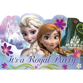 Disney Frozen Postcard Invitations (8 Pack)