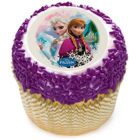 "Disney Frozen Sisters 2"" Edible Cupcake Topper (12 Images)"