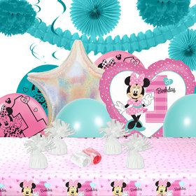 Disney Minnie Mouse 1st Birthday Deco Kit