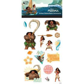 Disney Moana Standard Stickers (4 Sheets)