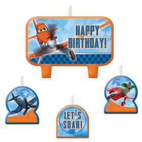 Disney Planes Birthday Candle Set (4 Pack)