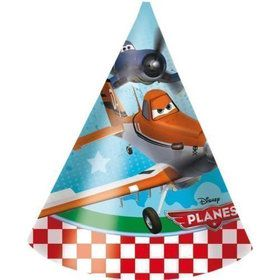 Disney Planes Cone Hats (6 Count)