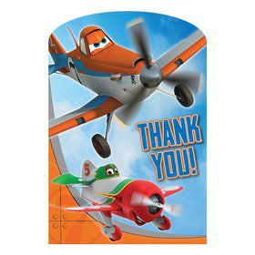 Disney Planes Postcard Thank You Cards (8 Pack)