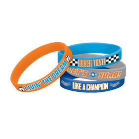Disney Planes Rubber Bracelet Favors (4 Pack)