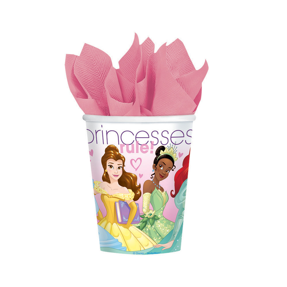 Disney Princess 9Oz Cups (8 Pack) - Party Supplies BB585072