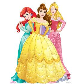 Disney Princess Cardboard Standup Decoration (Each)