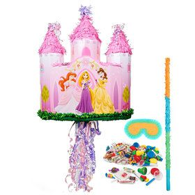 Disney Princess Castle Pull-String Pinata Kit