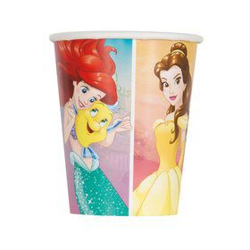 Disney Princess Dream Big 9oz Paper Cups (8)