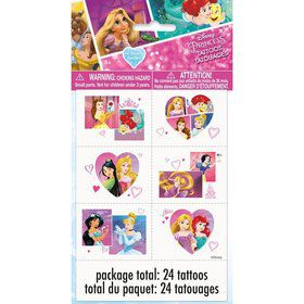 Disney Princess Dream Big Color Tattoo Sheets (4)