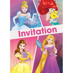 Disney Princess Dream Big Invitations (8)