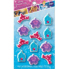 Disney Princess Edible Icing Decorations (12 Pack)