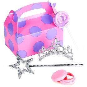 Princess Filled Favor Boxes (4-Pack)