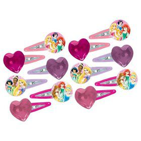 Disney Princess Hair Clip Favors (12 Pack)