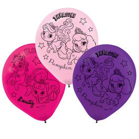 Disney Princess Palace Pet Latex Balloons (6 Count)