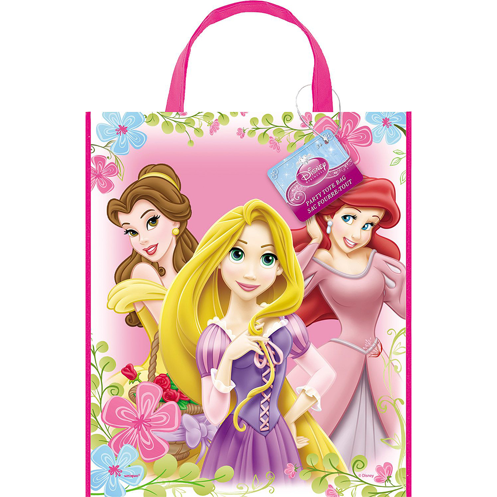 Disney Princess Party Supplies Tote Bag (Each)