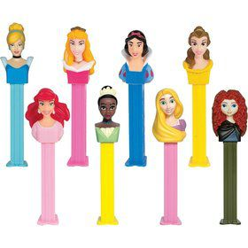 Disney Princess Pez Dispenser and Candy Set (Each)