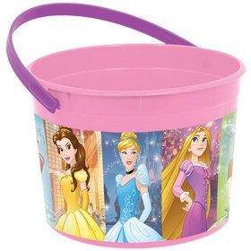 Disney Princess Plastic Favor Container (Each)