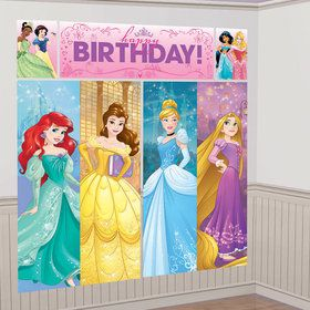 Disney Princess Scene Setter Wall Decorating Kit (Each)