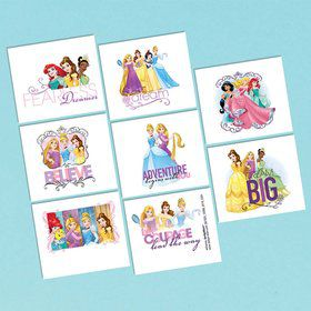 Disney Princess Tattoo Favors (1)