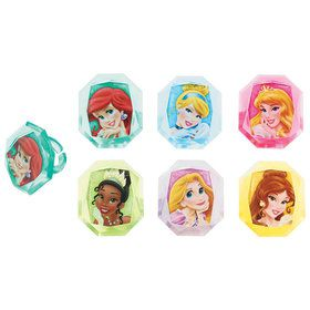 Disney Princesses Cupcake Rings (12)