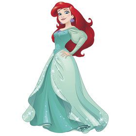 Disney Sparkling Ariel Giant Wall Decals