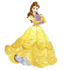 Disney Sparkling Belle Giant Wall Decals