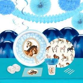 Ponies 16 Guest Tableware Deco Kit