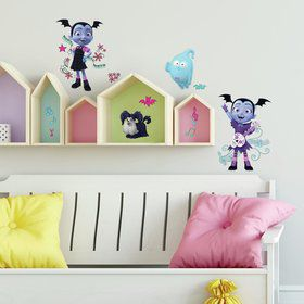 Disney Vampirina Spooktacular Peel and Stick Wall Decals (18 Pieces)