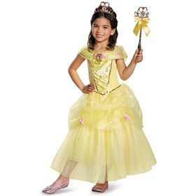 Disney's Beauty and the Beast Belle Deluxe Kids Costume