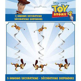 Disney's Toy Story 4 Hanging Swirl Decorations